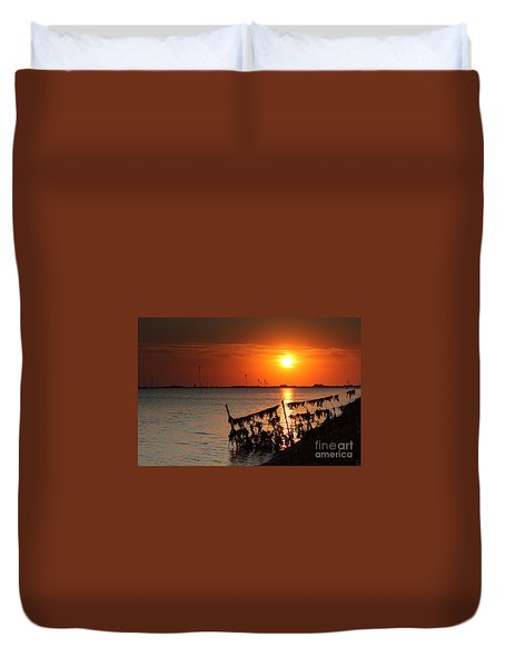 Husum Sunset Duvet Cover