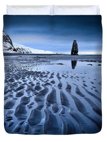 Hvitserkur, Iceland Duvet Cover