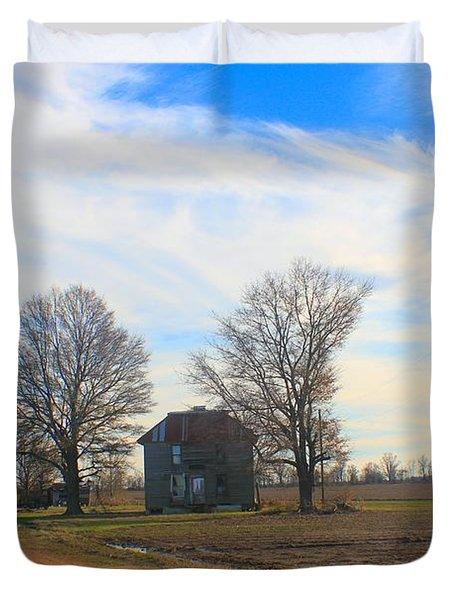 Hwy 8 Old House 2 Duvet Cover