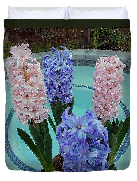 Hyacinth 2 Duvet Cover