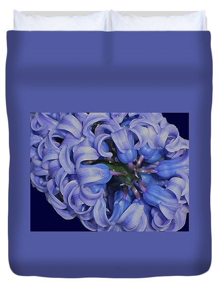 Hyacinth Curls Duvet Cover