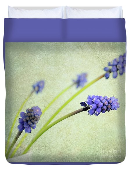Hyacinth Grape Duvet Cover