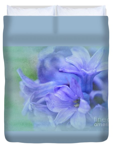 Hyacinths Of Spring Duvet Cover
