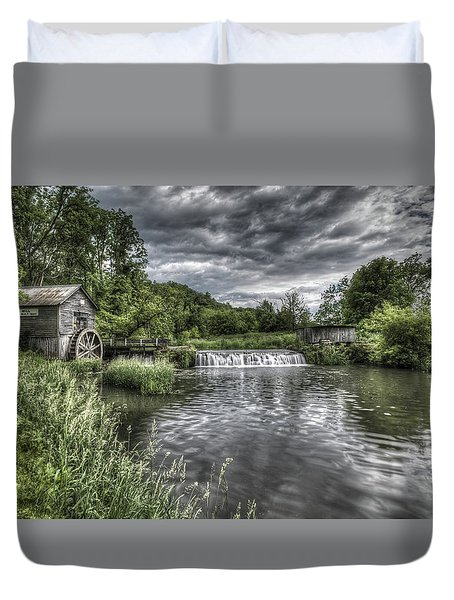 Hyde's Mill Duvet Cover