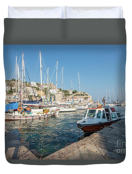 Hydra Habour Duvet Cover