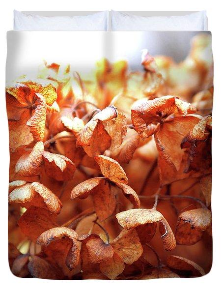 Hydrangea In Sunlight Duvet Cover