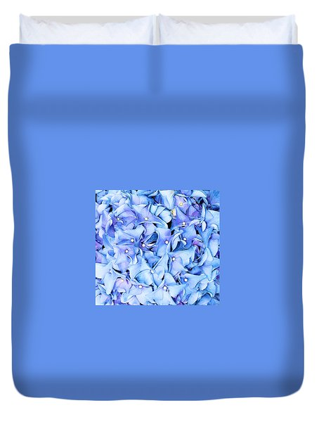 Duvet Cover featuring the photograph Hydrangea by Kristin Elmquist