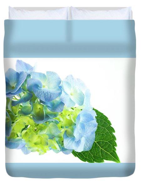 Hydrangea Magic Duvet Cover