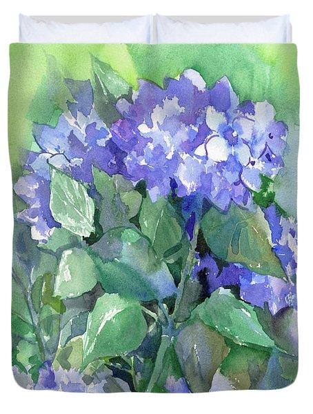 Hydrangea Duvet Cover by Suren Nersisyan