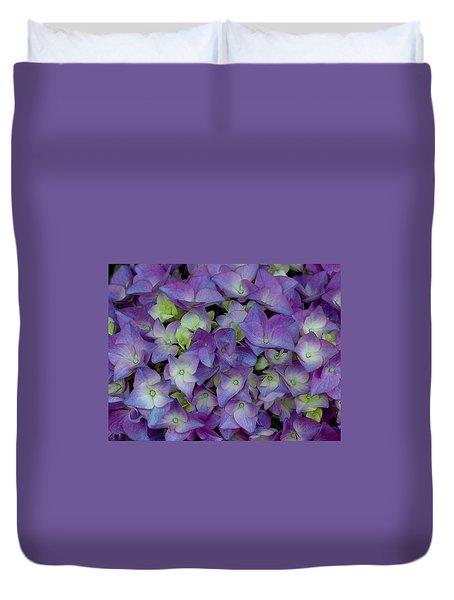 Hydrangia Blossom Duvet Cover