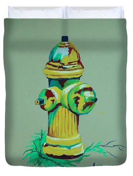 Hydrant Duvet Cover
