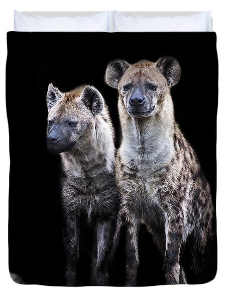 Hyena Lookout Duvet Cover