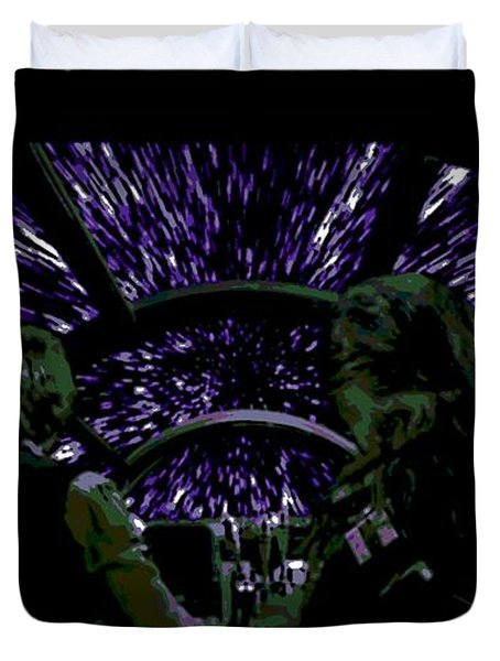 Hyper Space Duvet Cover