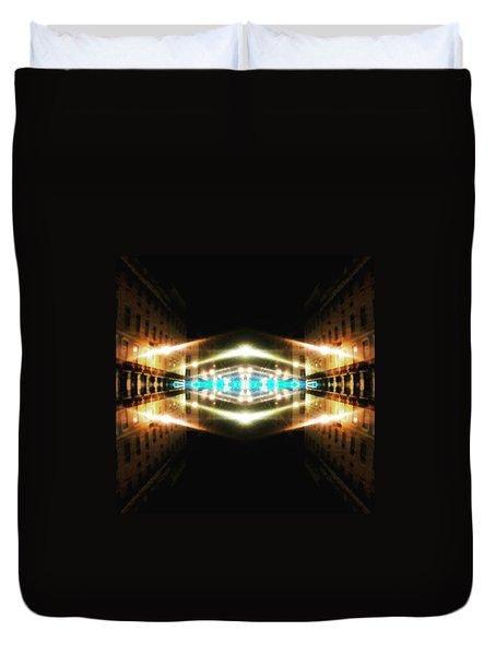 Hypergate To Lisbon Duvet Cover by Jorge Ferreira