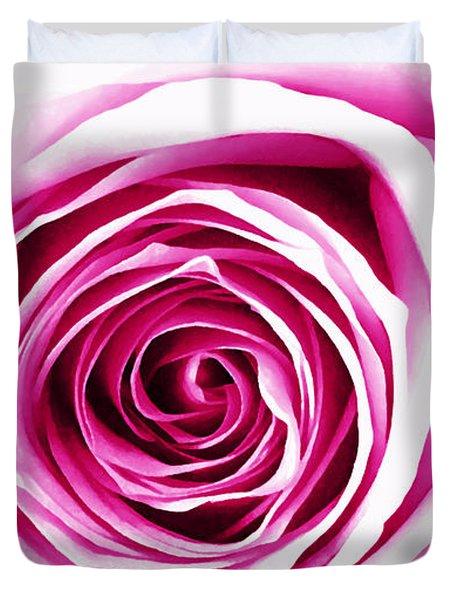 Hypnotic Pink Duvet Cover
