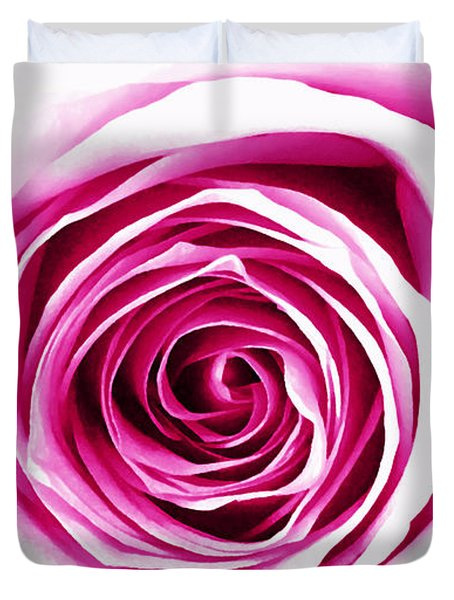 Hypnotic Pink Duvet Cover