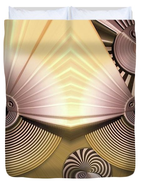 Hypnotic Duvet Cover by Ron Bissett