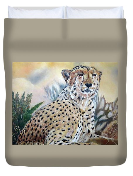 I Am Cheetah 2 Duvet Cover
