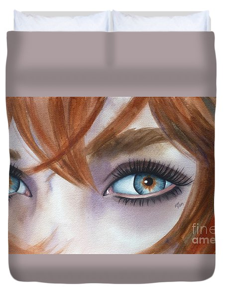 I Am Enough Duvet Cover