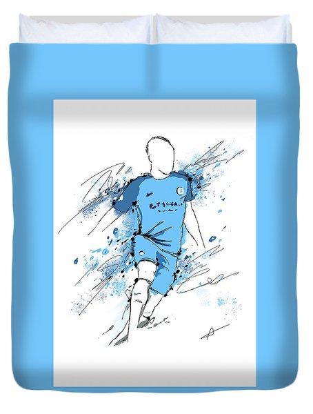 I Am Sky Blue #2 Duvet Cover