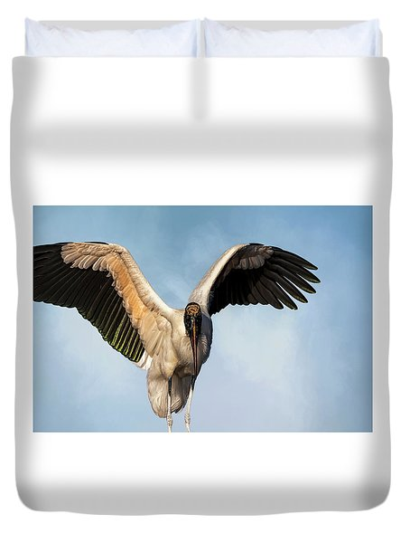 I Am The Great, And Powerful Oz Duvet Cover by Cyndy Doty