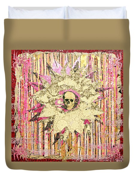 I Am The Petal You Forgot To Pick And I Love You Not Duvet Cover by Bobby Zeik