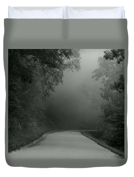 I Answered The Call Duvet Cover