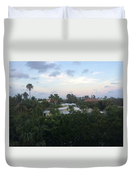 I Can Touch The Sky Duvet Cover