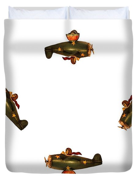 I Dont Want To Be Tail End Charlie Duvet Cover