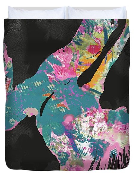 I Feel Alive - Hip Hop Street Dancing Art Poster   Duvet Cover