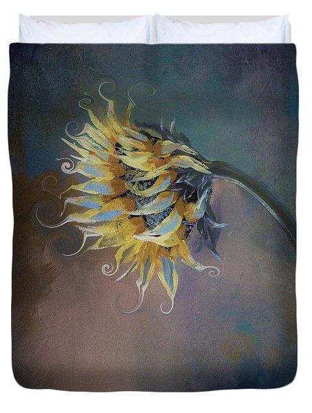 I Feel Like A Sunflower Painting Duvet Cover