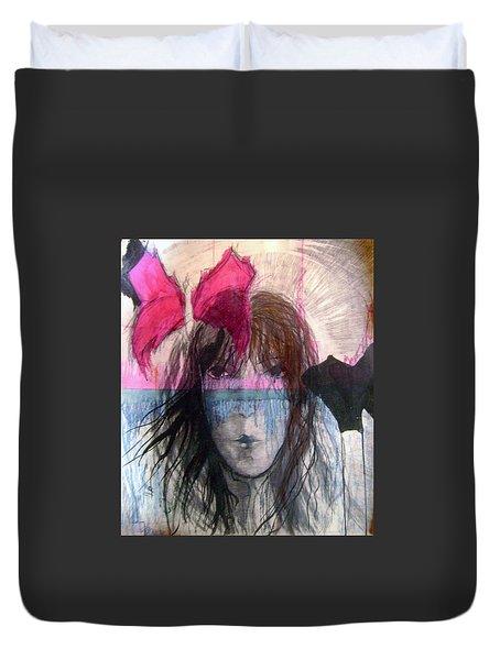 I Have In Head Confusion  Duvet Cover by Wojtek Kowalski
