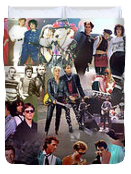 I Love 80s Duvet Cover