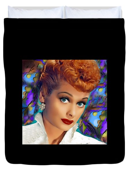 I Love Lucy Duvet Cover