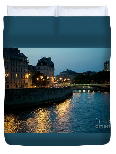 I Love Paris Duvet Cover