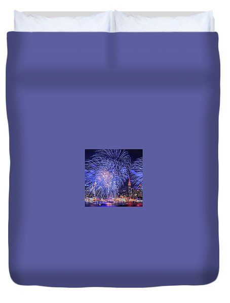 I Love This City Duvet Cover