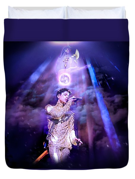 I Love You - Prince Duvet Cover