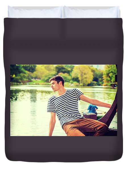I Missing You And Waiting For You Duvet Cover