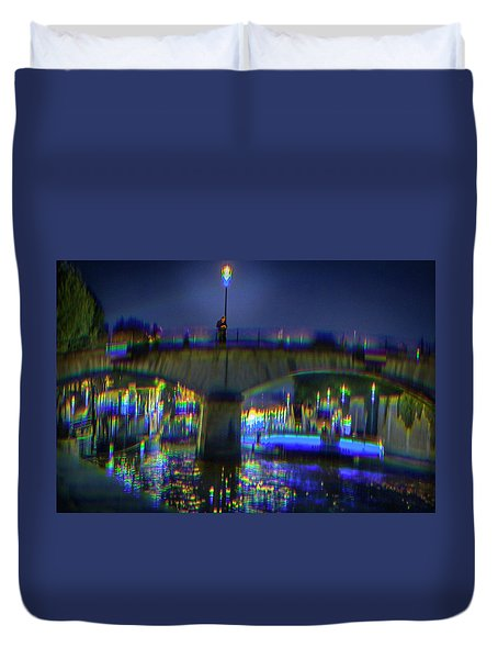 I Remember Paris Duvet Cover