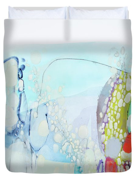 I Said Yes In My Head Duvet Cover