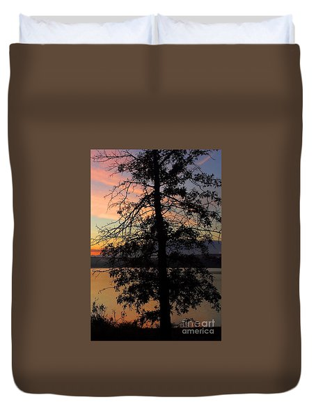 I Saw Her Standing There - Silhouette Of A Dream  Duvet Cover