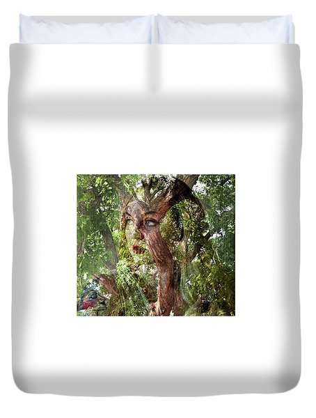 I See Myself In Nature Duvet Cover