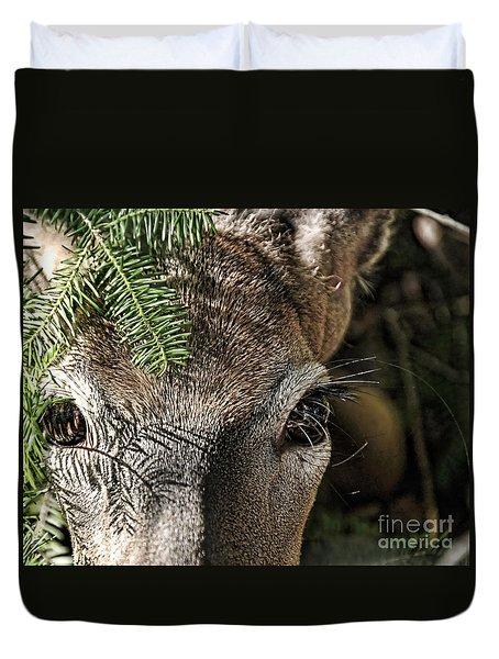 I See You Ginkelmier Inspired Deer Duvet Cover
