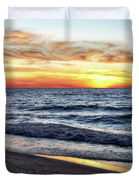 I See You In The Sunset Duvet Cover