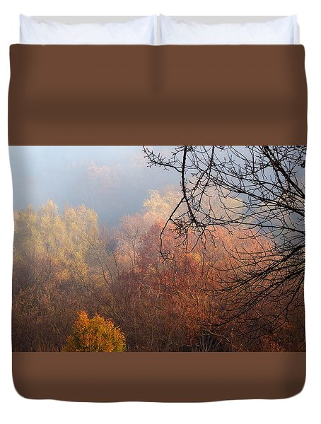 I Thought Of You Duvet Cover