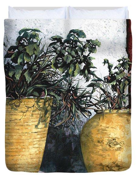 I Vasi Duvet Cover by Guido Borelli