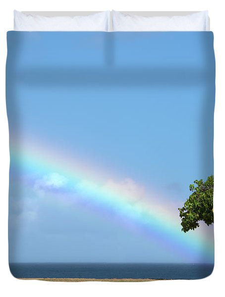 I Want To Be There Duvet Cover