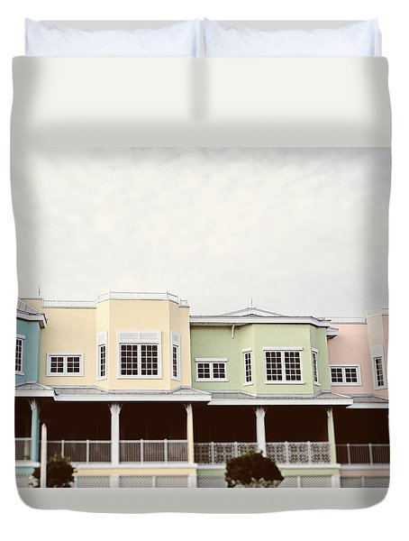 I Want To Go Back Duvet Cover by Lisa Russo
