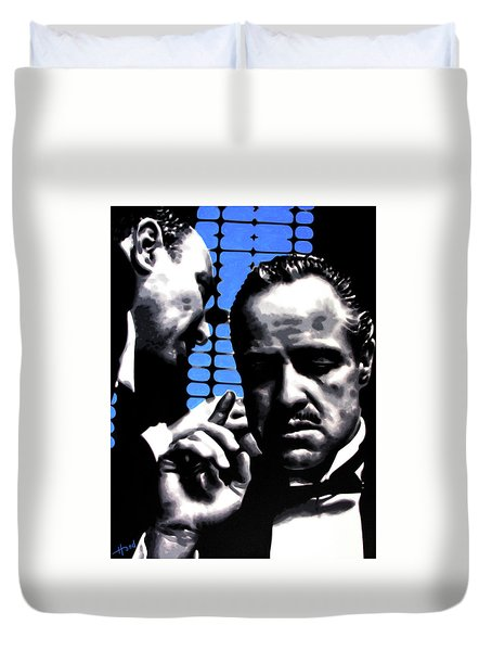 I Want You To Kill Him Duvet Cover