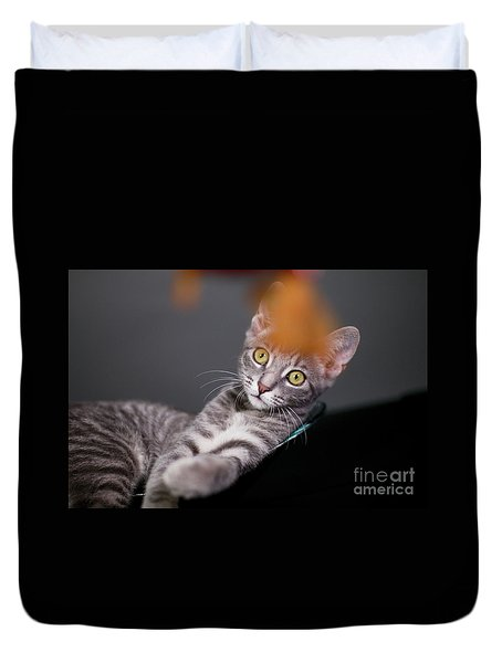 I Will Get It Duvet Cover